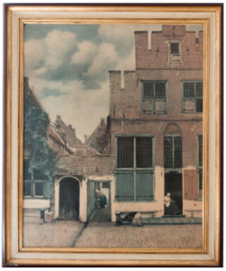 The Little Street - van Vermeer
